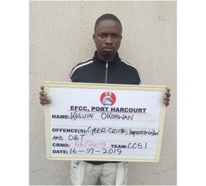 EFCC Arrest Hacker After Hacking Over 100 Facebook Accounts (Photo)